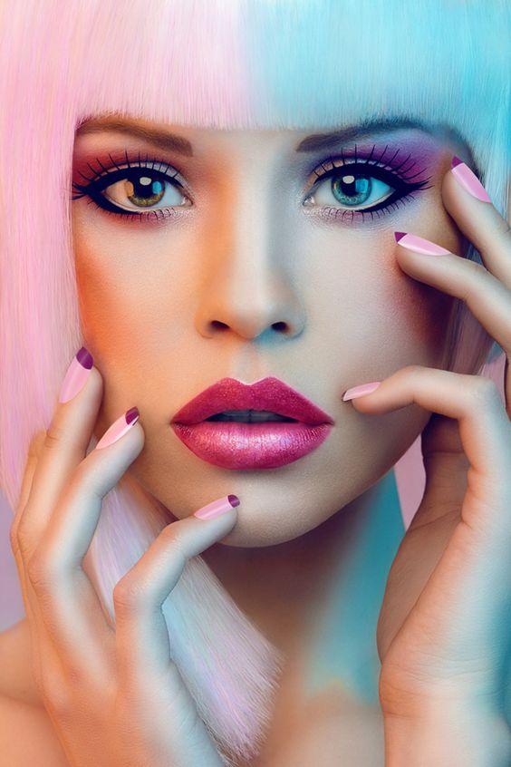 Макияж в стиле куклы Барби фото