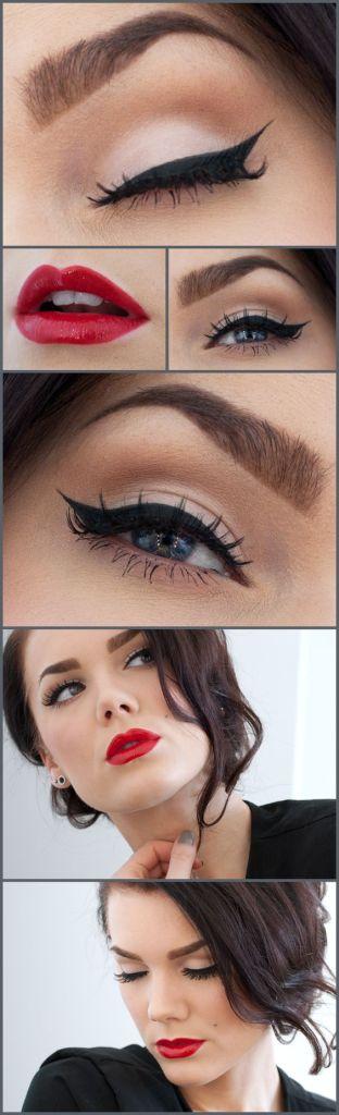 Кошачий макияж примеры на фото