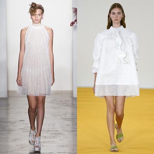 Какие платья в моде весной летом 2017? Примеры фото