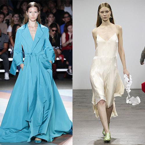 Модные стили платьев весна лето 2017