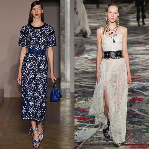 Модные платья весна лето 2017