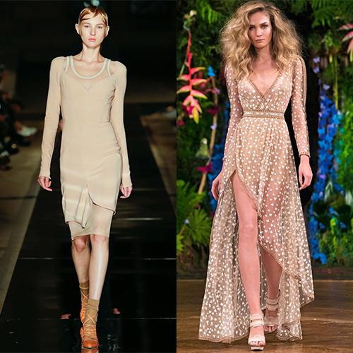 Женские платья мода весна лето 2017