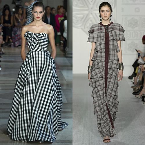 Модные принты на ткани весна лето 2017