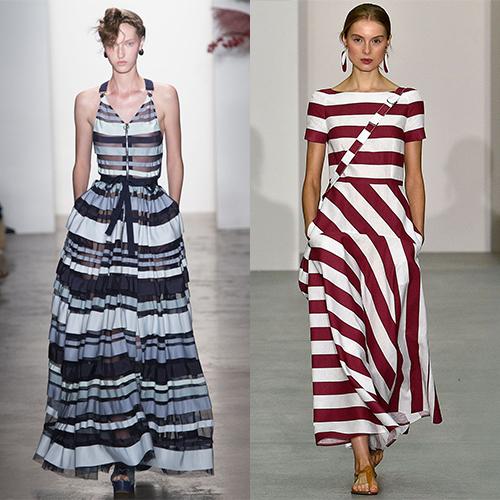 Модные платья вена лето 2017