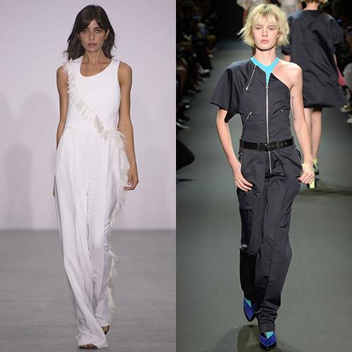 Комбинезоны женские мода весна лето 2017