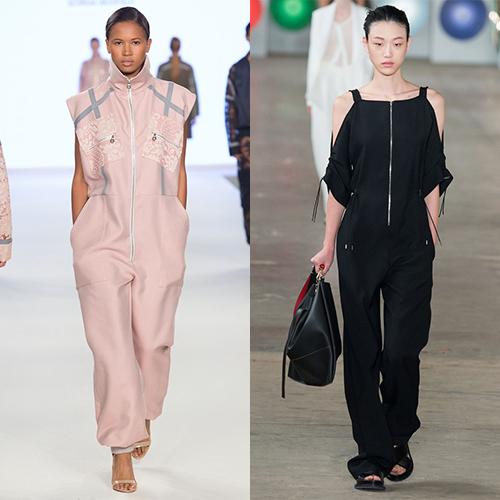 Модные женские комбинезоны весна лето 2017