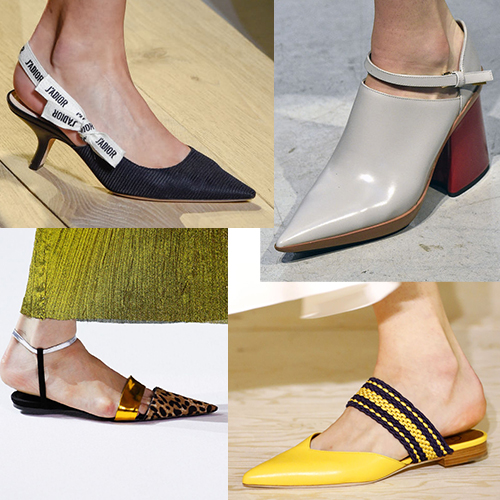 Какие модели обуви в моде летом 2017