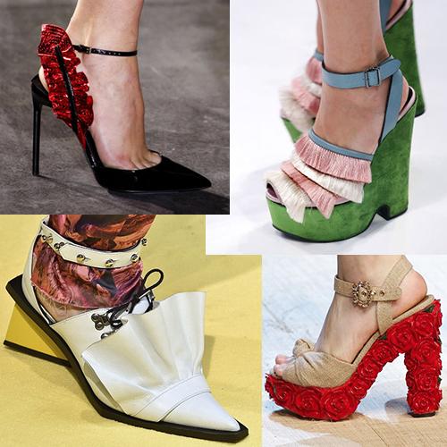 Женская обувь лето 2017