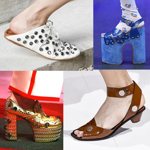 Тренды обувной моды, лето 2017
