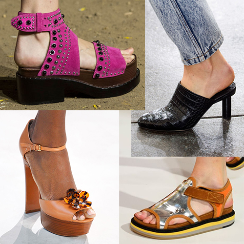 Модная женская обувь лето 2017
