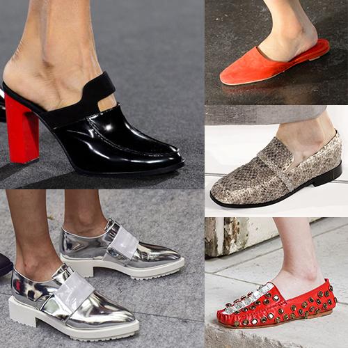 Какая обувь с моде летом 2017