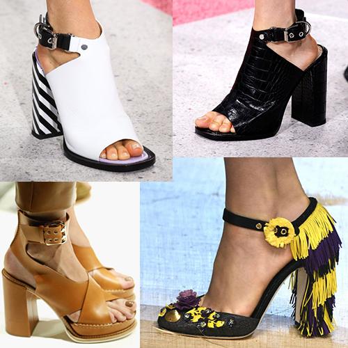 Какая обувь в моде летом 2017