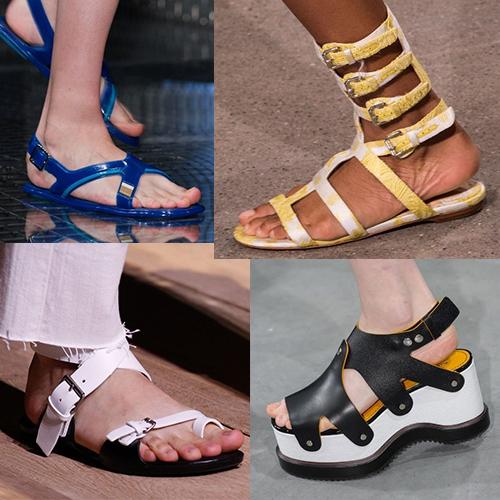Модная женская обувь 2017 лето фото