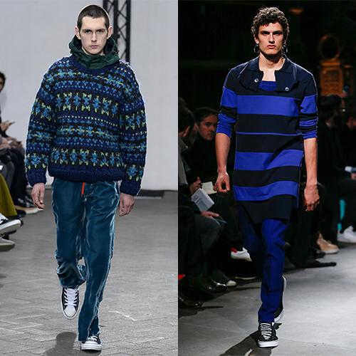 Модный мужской трикотаж 2018