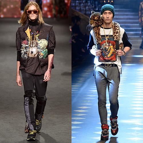 Мужская мода осень зима 17-18