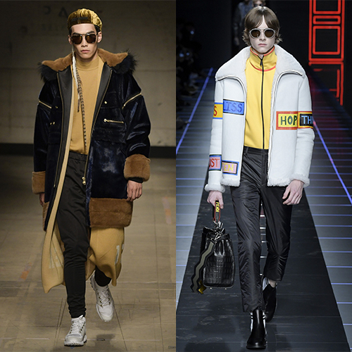 Модная верхняя одежда для мужчин Осень зима 2017  2018