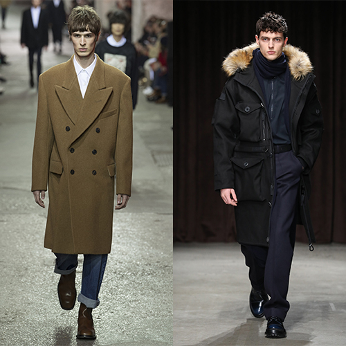 Модная мужская одежда на осень и зиму