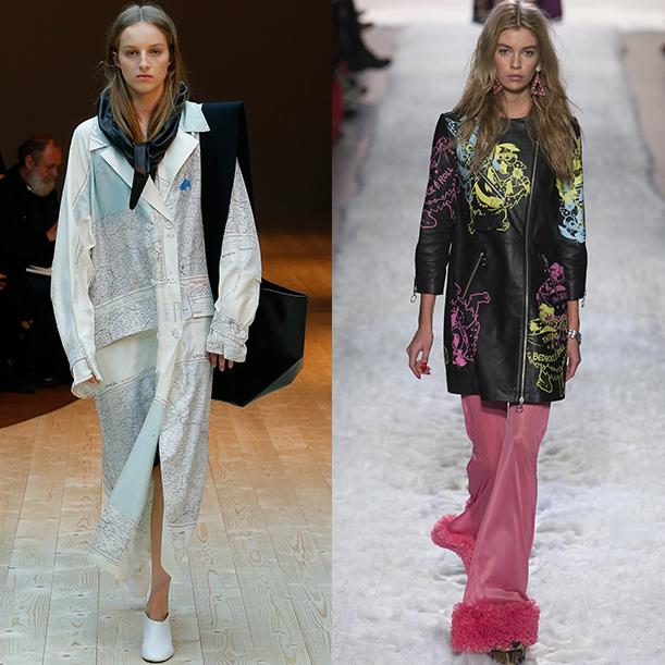 Какие цвета в одежде модные осенью и зимой 2017-18