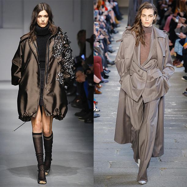 Тренды в женской одежде fall winter 2017 2018