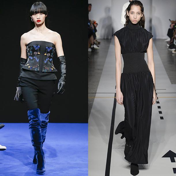 Модная женская одежда Осень Зима 2017-18