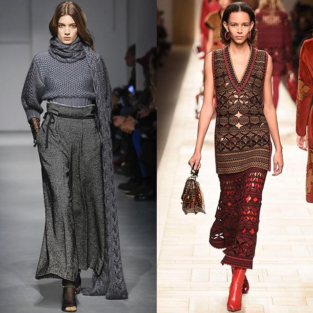 Какая одежда в моде осенью и зимой 2017 2018