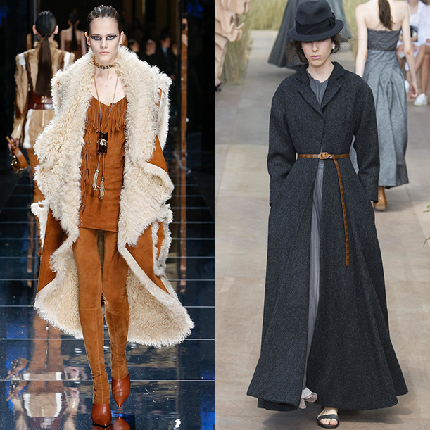 Модные коллекции осень зима 2017 2018