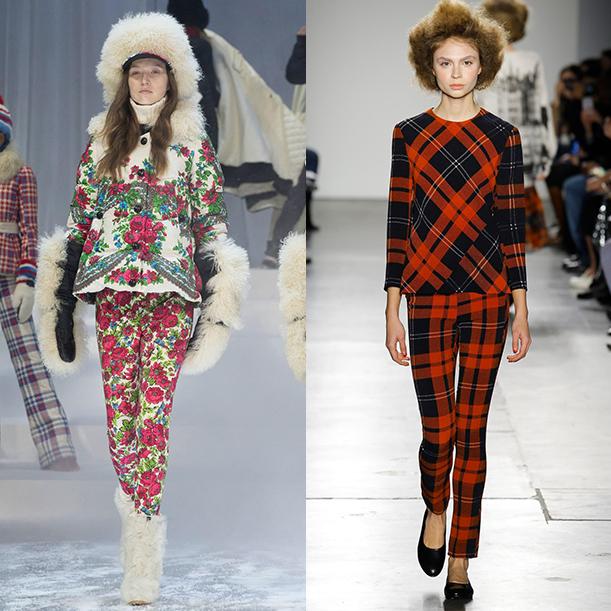 Модные принты осень зима 2017 2018