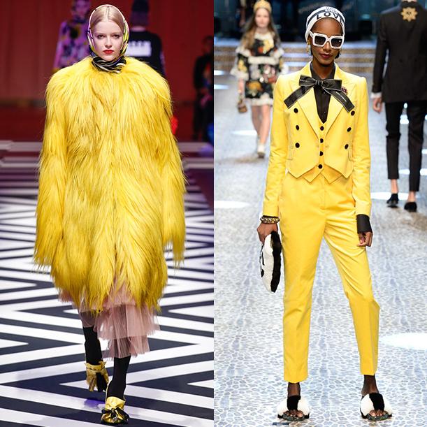 Модные цвета и принты в женской одежде