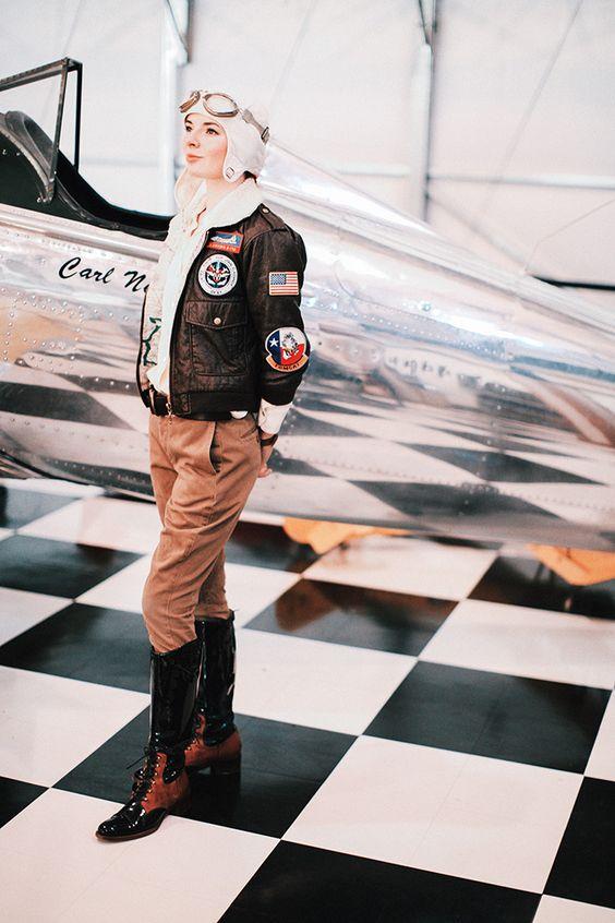 Авиатор стиль одежды