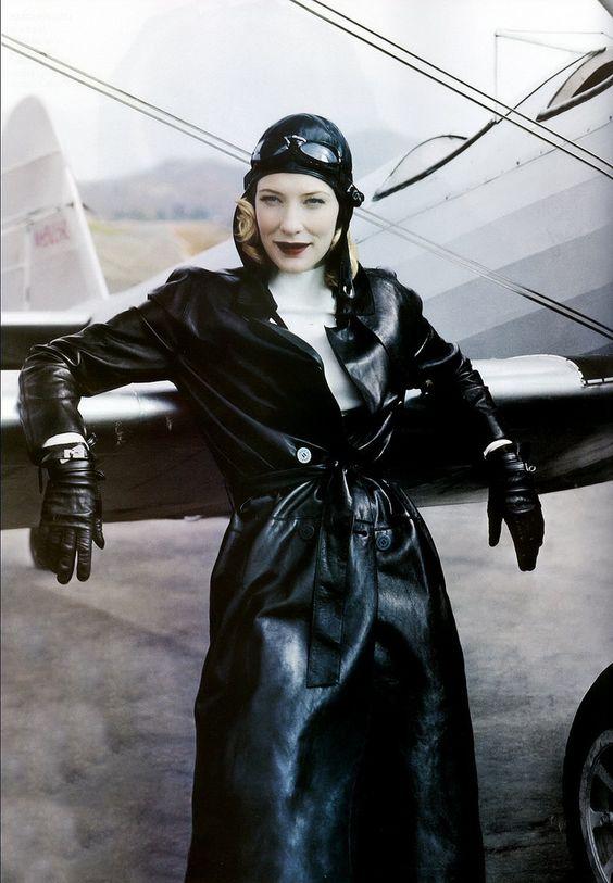 Авиатор стиль в одежде