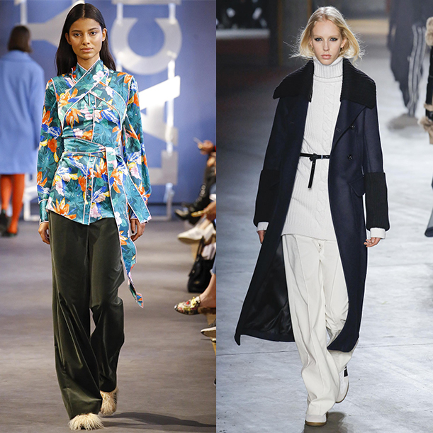 модные женские брюки осень зима 2017 2018