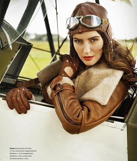 Стиль одежды авиатор примеры
