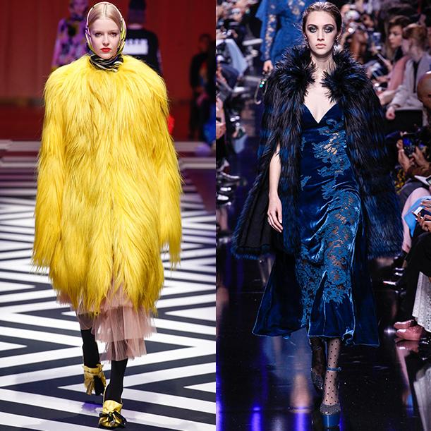 Модная верхняя женская одежда. Осень Зима 2017 2018. Шубы