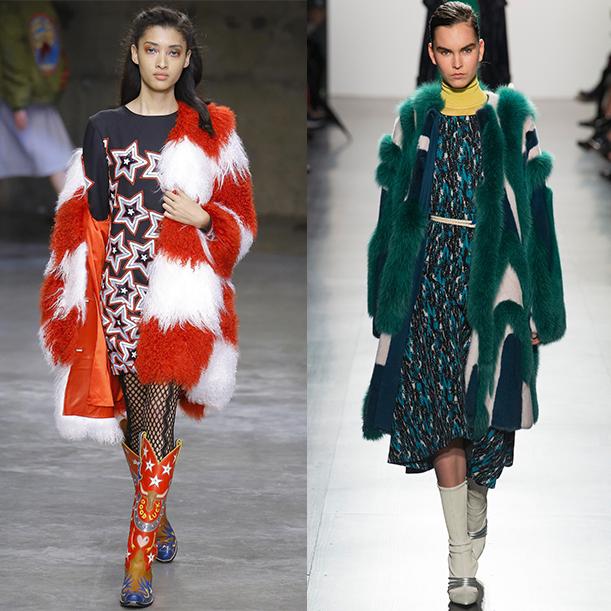тенденции верхней одежды осень зима 2017