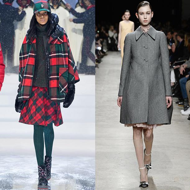 Верхняя женская одежда. Тенденции, Осень Зима 2017 2018