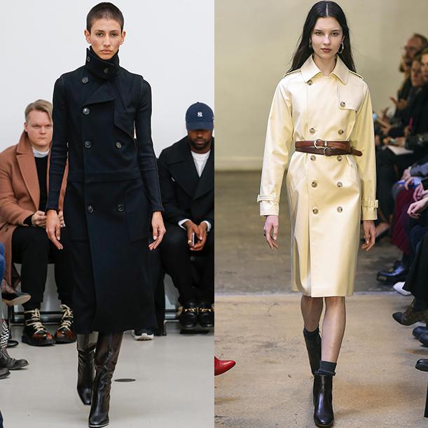 Модная женская верхняя одежда Осень Зима 2017 2018. Пальто