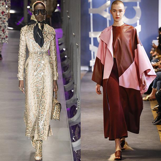 тенденции верхней одежды осень зима 2017 2018