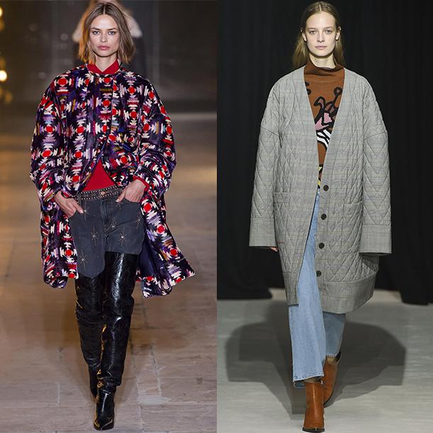 мода осень зима 2017 2018 верхняя одежда
