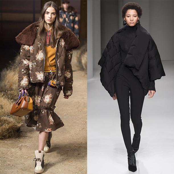 Мода Осень Зима 2017 2018 Верхняя женская одежда