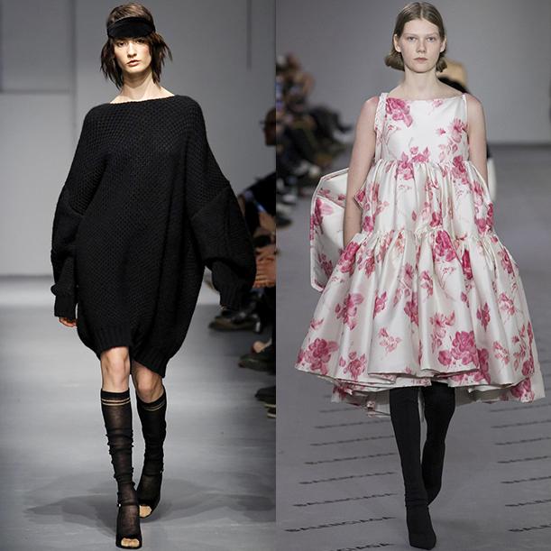 Модные платья осень зима 2017/18
