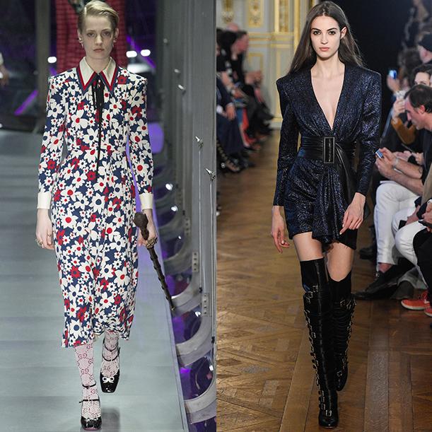 Модные стили платьев Осень зима 2017 2018