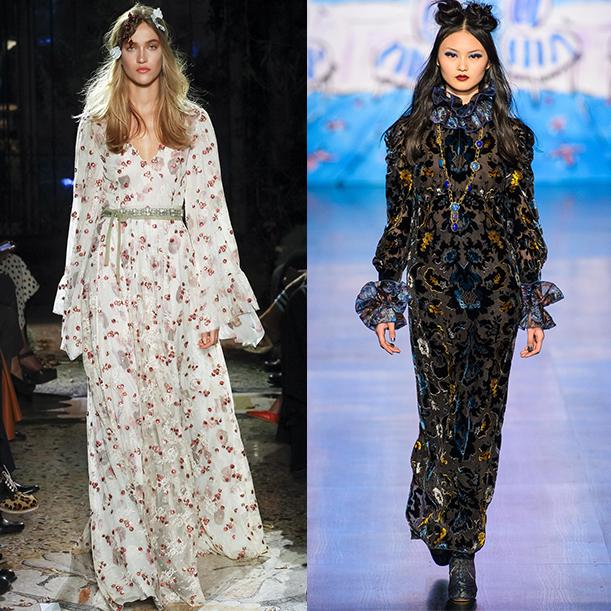 модные фасоны платьев осень зима 2017 2018