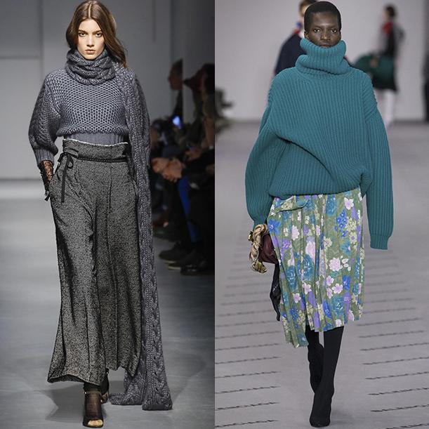 Модные кардиганы и свтиера Осень зима 2017 2018