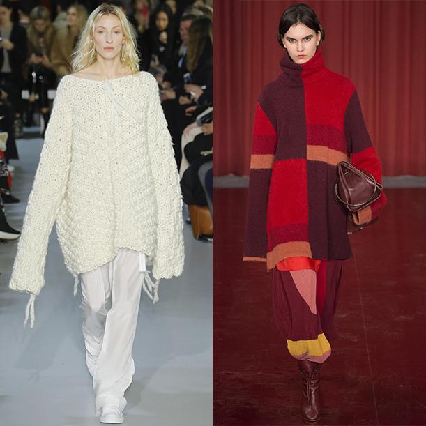 Модные вязаные свитера и кардиганы. Осень Зима 2017 2018