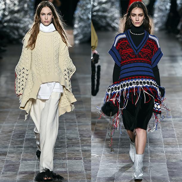 Модные свитера и кардиганы Осень зима 2017 2018