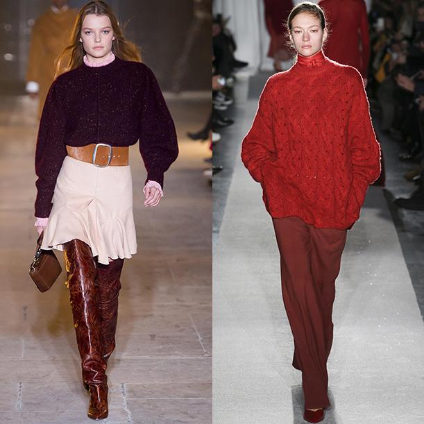 Модные вязаные вещи Осень зима 2017 2018