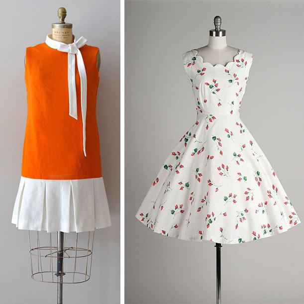 Винтажный стиль в одежде