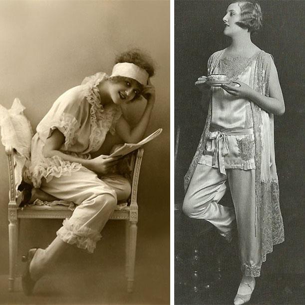 История бельевого стиля одежды