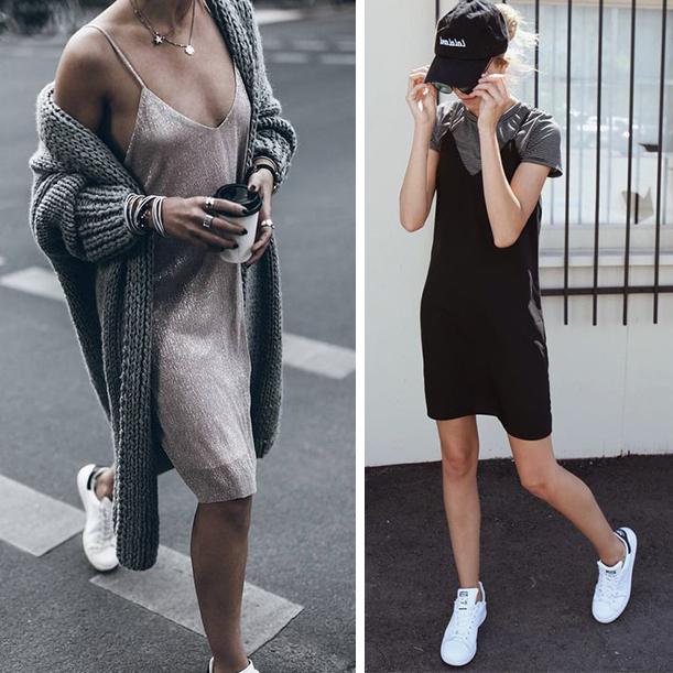 Бельевой стиль в одежде. Платья