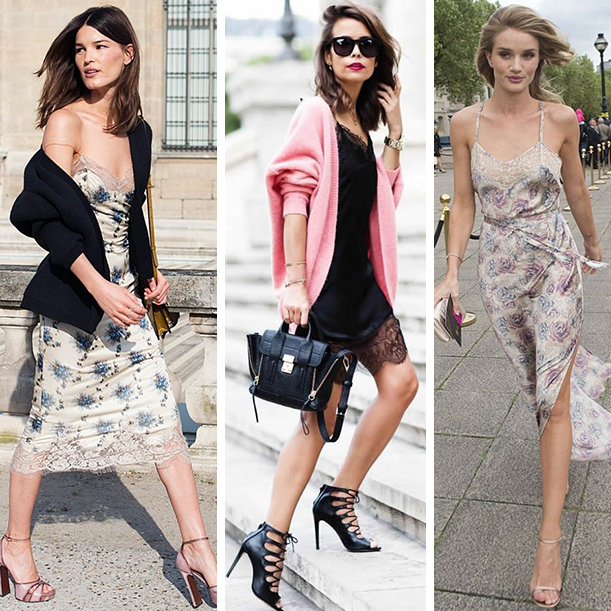 Бельевой стиль в одежде. С чем носить?